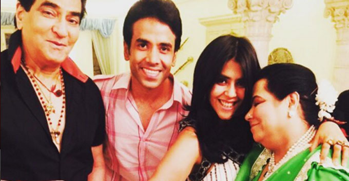 Tv czarina Ekta Kapoor celebrated Naming ceremony of her newly born son via surrogacy