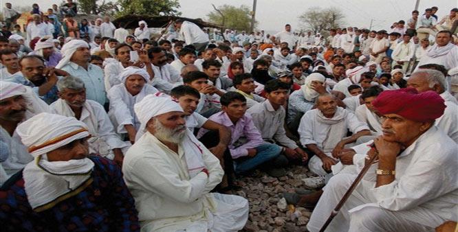 Gujjar-on-strike-jaipur-rajasthan