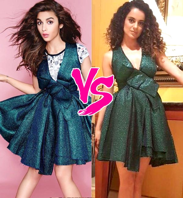 Kangana Ranaut criticized Alia bhatt for not watching her movie