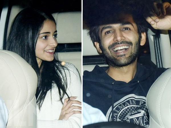 Kartik Aaryan dating Ananya Pandit
