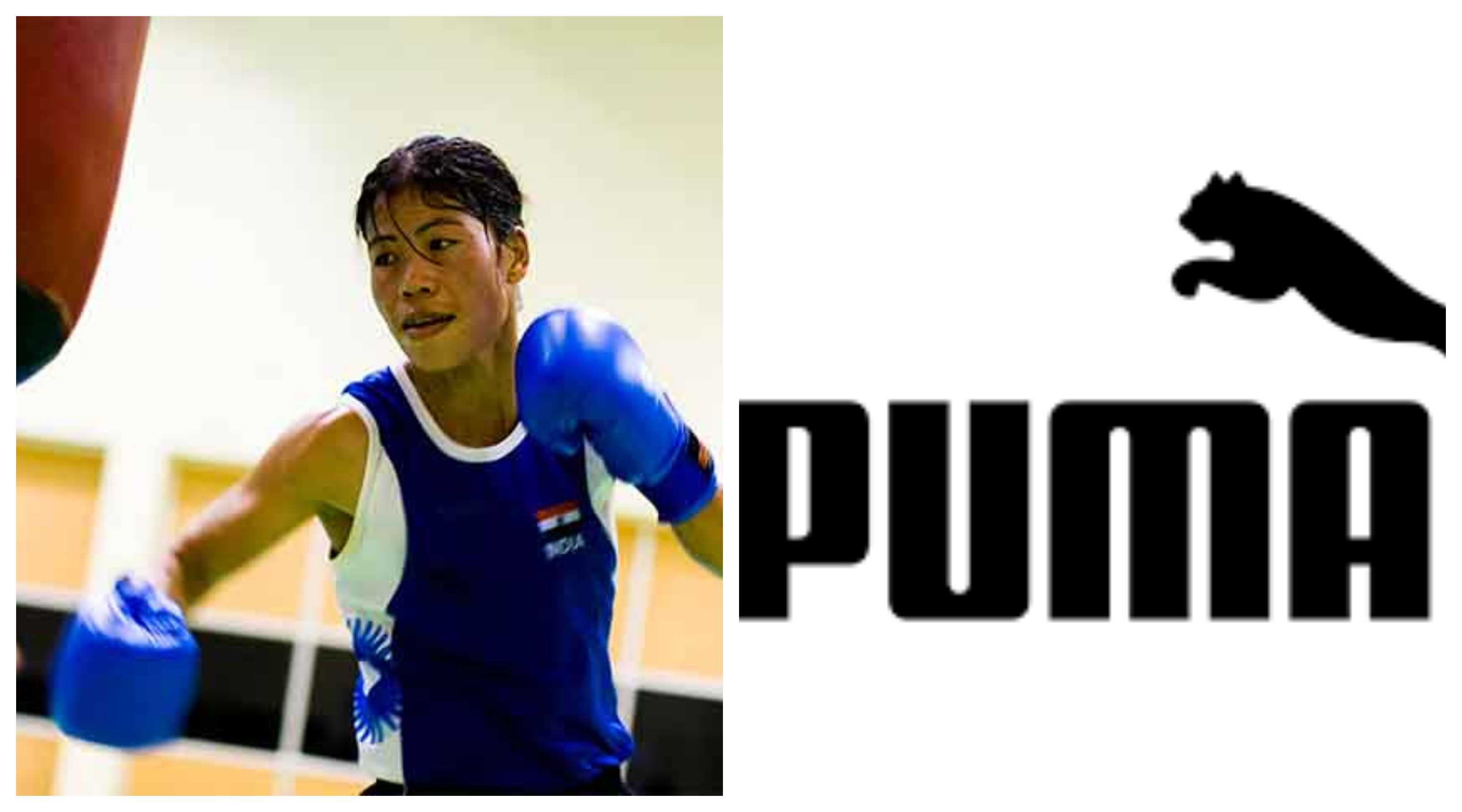 Mary kom becomes brand ambassador of Puma