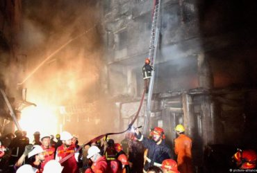 Massive fire break in Bangladesh