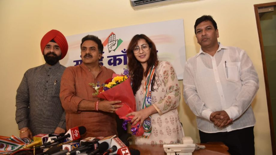Shilpa Shinde joins congress