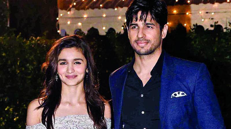 """Relationship with Alia after breakup is not bitter"", says Sidharth"
