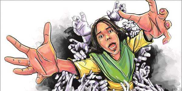 a woman gangraped in jharkhand