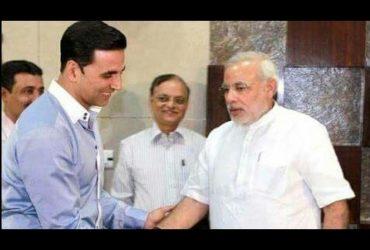 Akshay Kumar with PM Modi