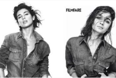 Alia Bhatt accused of copying dua lipa photo shoot