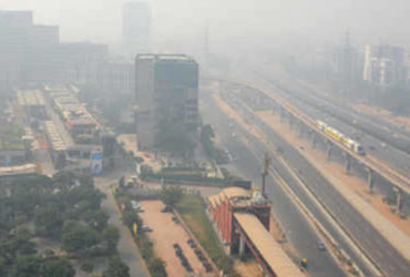 Pollution level in Gurugram