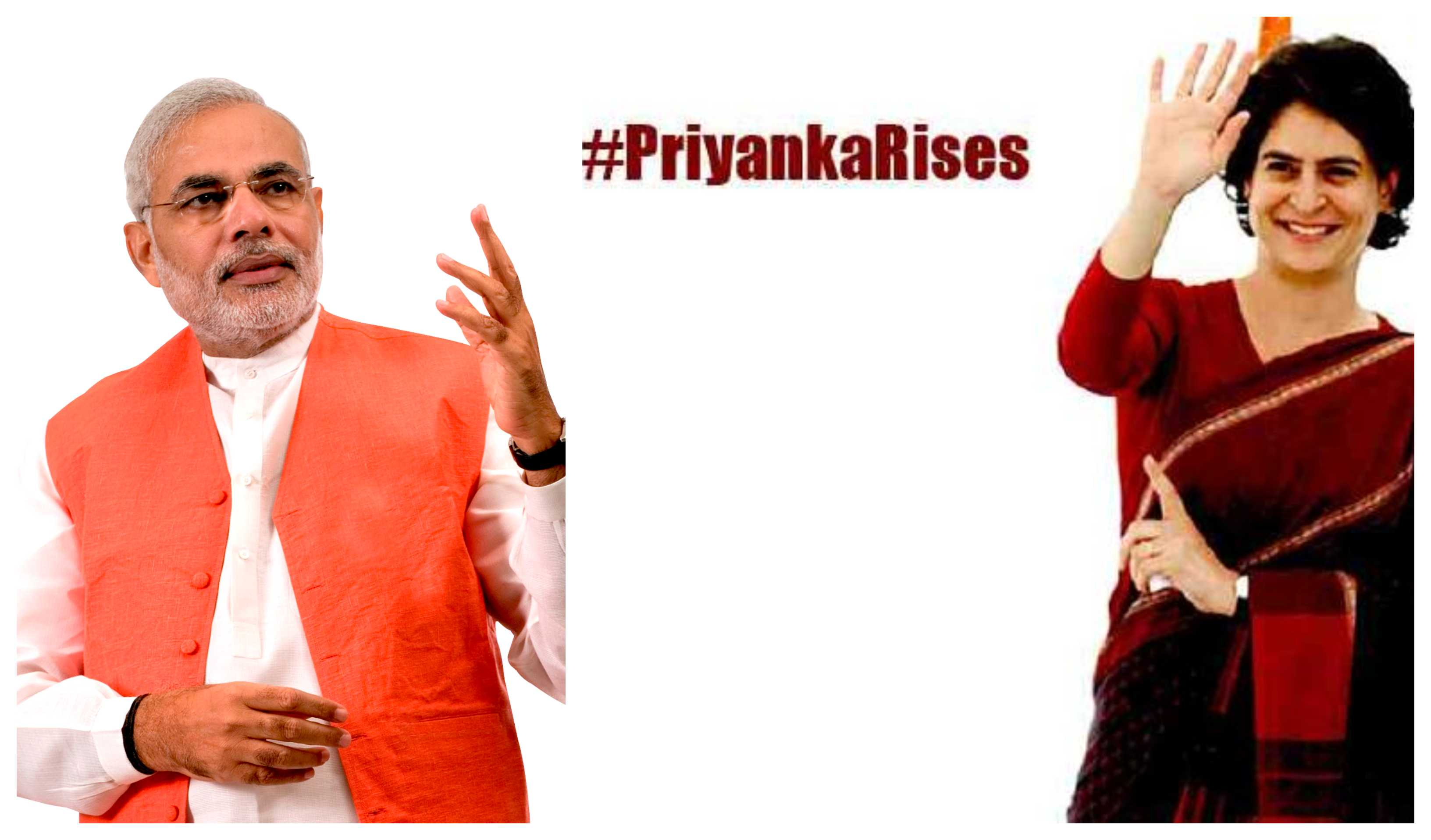 Priyanka Gandhi retaliated on Modi blog