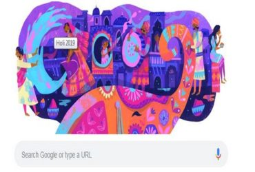 google doodle_Holi_2019
