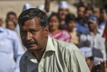 Arvind Kejriwal punched by AAP MLA