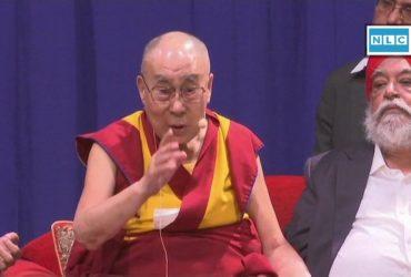Dalailama admitted to hospital in Delhi
