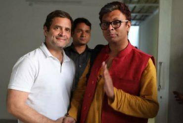 Gay activist harish iyer joins congress