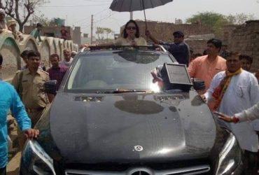Hema Malini road show