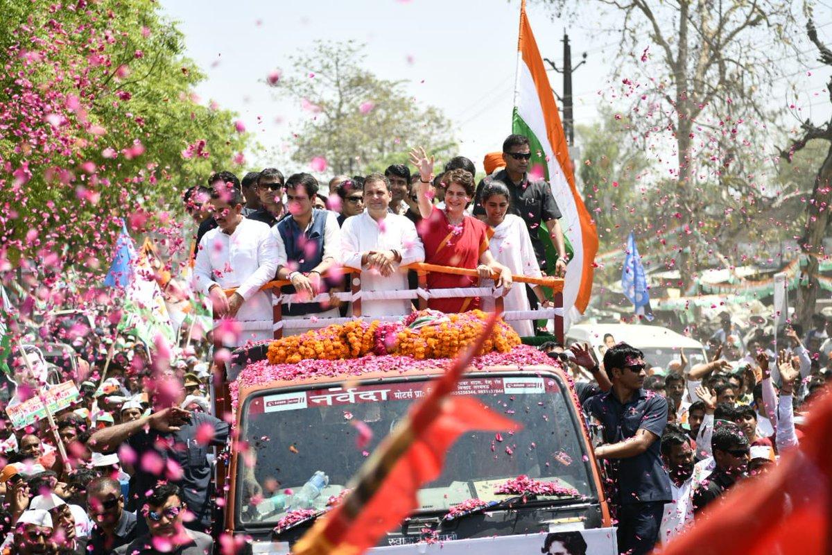 Rahul gandhi files nomination from Amethi