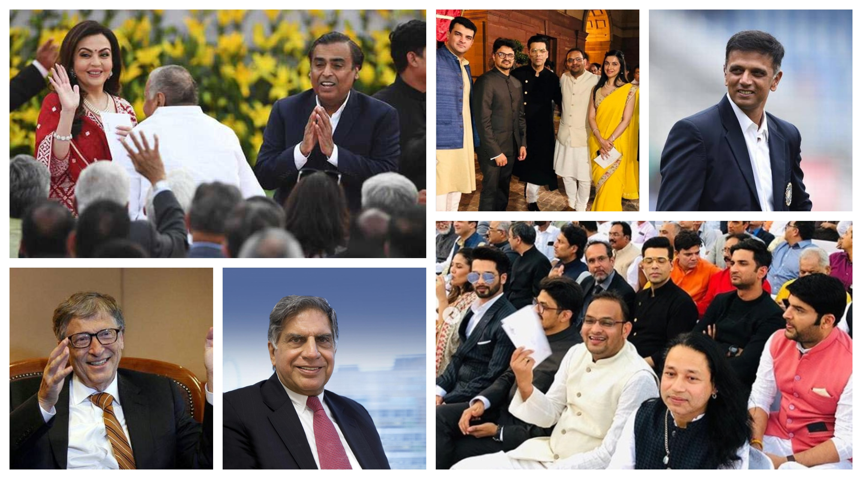Businessmen, Celebrity and Sportsperson at PM Modi oath taking ceremony