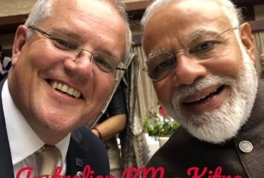 Scott Morison selfie with Modi