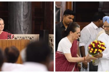Sonia Gandhi sworn in as President of Party