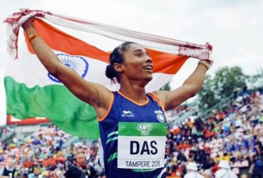 Hima-Das won 5 gold medals