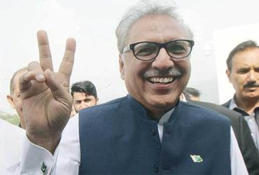 Pakistan president Arif Alvi