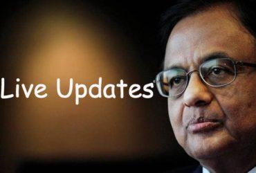 chidambaram arrest live updates