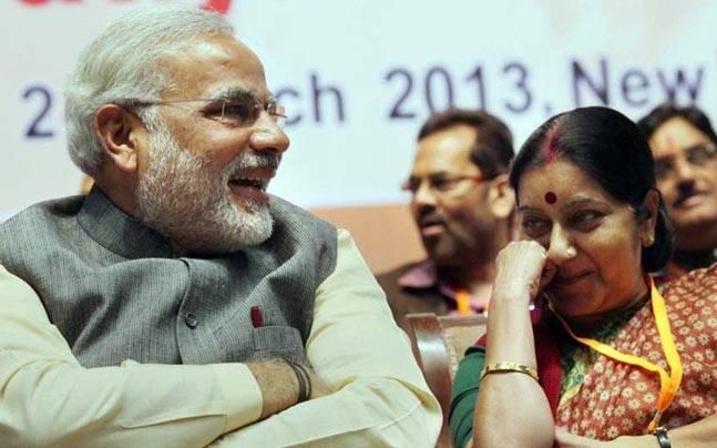 modi sushma swaraj