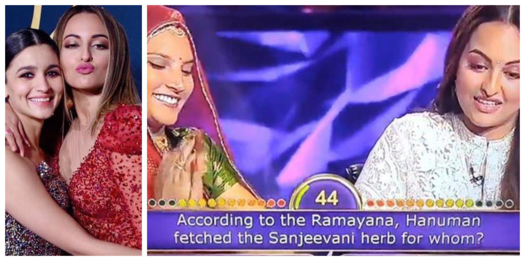 Alia and sonakshi