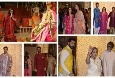 Bollywood celebrities at Ambani's ganpati celebration