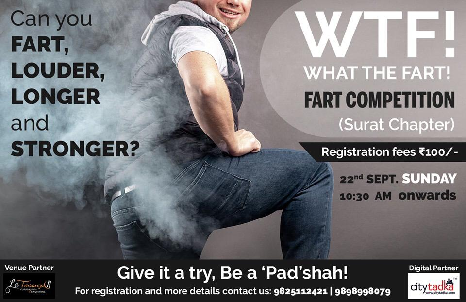Fart compition