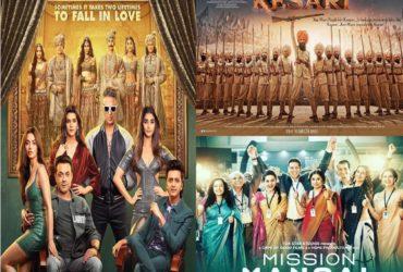 Akshay Kumar 100 crore club movies in 2019