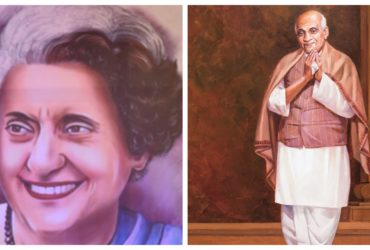 Indira and Sardar patel