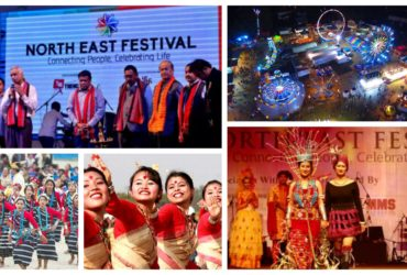 North-east festival 2019 at Janpath