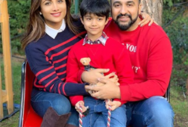shilpa shetty and raj kundra son