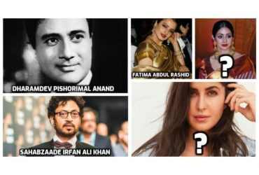 Bollywood celebrities real names