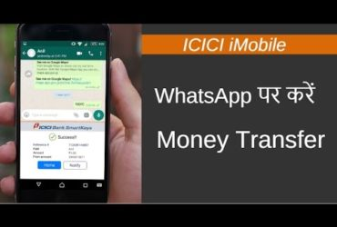 ICICI whats app service