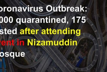 over 2000 quarantined in Nizamuddin delhi