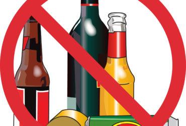 MHA bans alcohol, tobaco, and pan masala