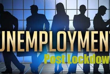 unemployment post lockdown in India