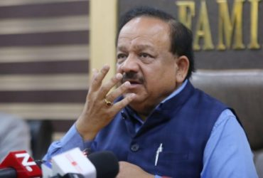 HEALTH MINISTER DR. HARSH VARDHAN
