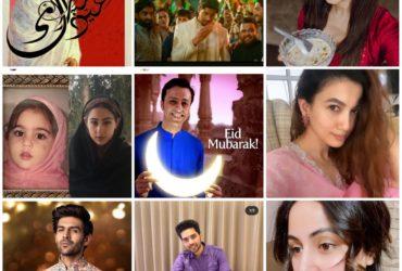 Celebrities wishing Eid Mubarak