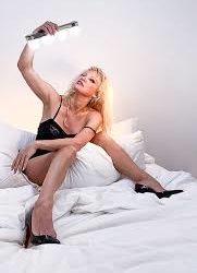 Pamela Anderson from her Garden of Eden