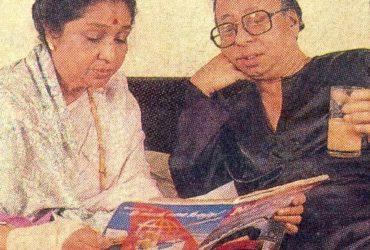 RD Burman and Asha Bhosle