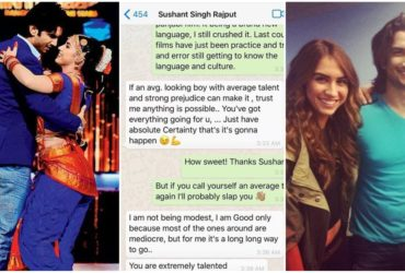 LAUREN-SUSHANT WHATSAPP CHAT