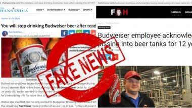 budweiser beer fake news