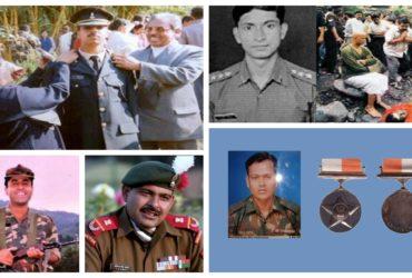 Martyrdom of defense jawans