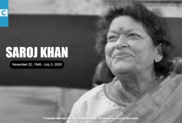 Saroj Khan demise