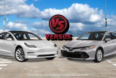 Tesla beats Toyota