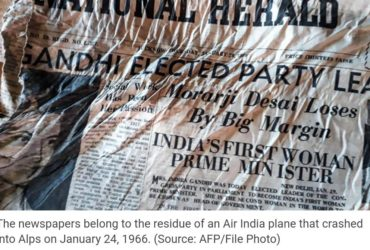 remains of 1966 Indian newspaper found
