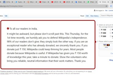 Wikipedia going out of funds