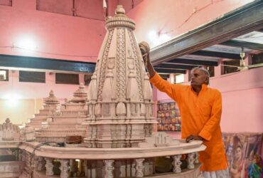 priest & cops involved in ayodhya ram mandir event tests covid positive
